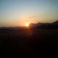 曽爾高原の夕日3